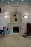 Готический камин и барбекю в квартире