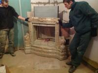 Изразцовая печь в Подмосковье